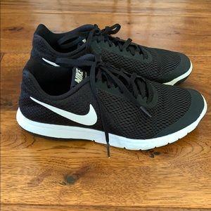Black NIKE Flex running shoes 7